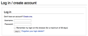 Standard login form on the English Wikipedia, 2013-05-31.png