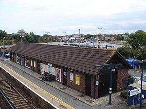 Staplehurst railway station - Image: Staplehurst Station 01