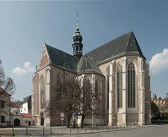 Elizabeth Richeza of Poland - Burial place of Ryksa-Elizabeth, basilika in Old Brno