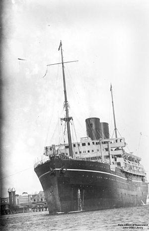 SS Cathay (1924) - Image: State Lib Qld 1 113752 Cathay (ship)
