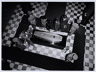 Walter Nash - Nash's state funeral