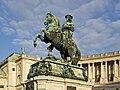 Statue Eugenio of Savoy Heldenplatz Vienna Austria.jpg