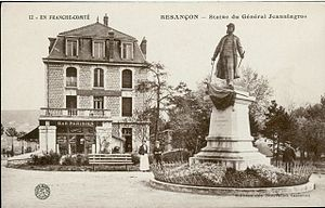 Pierre Joseph Jeanningros - Général Jeanningros (statue destroyed in 1942).