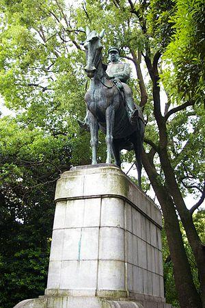 Ōyama Iwao - Statue of General Ōyama Iwao at Kudanzaka in Tokyo.