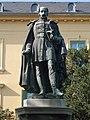 Statue of Sándor Kisfaludy by Miklós Vay in 1876. - Balatonfüred.JPG