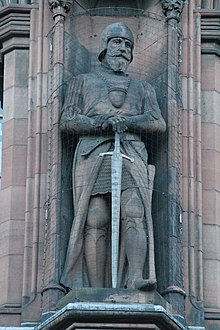 Statue of Sir James Douglas, Scottish National Portrait Gallery.jpg