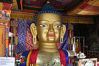 Statue of the Buddha at Shey Palace 02.jpg