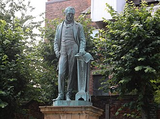 Michael Thomas Bass - Statue to Michael Thomas Bass, Wardwick, Derby