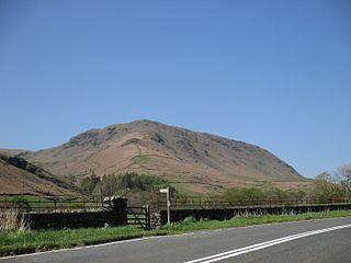 Steel Fell mountain in United Kingdom