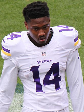 Stefon Diggs - Diggs with the Minnesota Vikings 2015