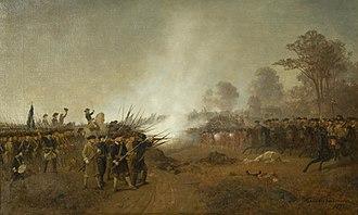 "Battle of Helsingborg - ""Stenbocks getapojkar vid Hälsingborg 1710"" by Henric Ankarcrona."