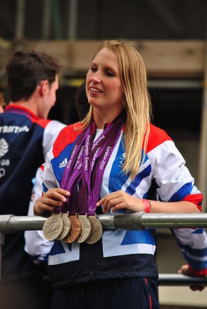 Great Britain at the 2012 Summer Paralympics - Stephanie Millward won four silver medals and one bronze in swimming events.