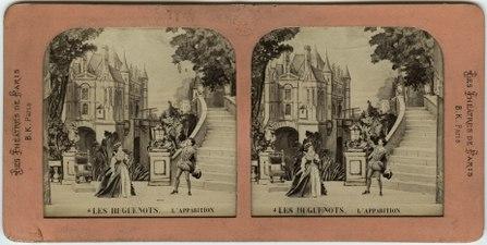 Stereokort, Les Huguenots 4, L'apparition - SMV - S53a.tif