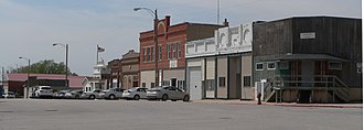 Sterling, Nebraska - Downtown Sterling: Broadway