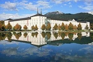 Admont Abbey - Image: Stift Admont 2008
