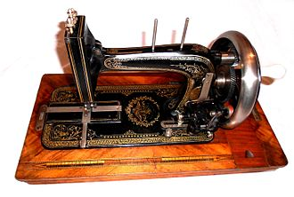 Stoewer - Stoewer Sewing Machine from about 1912.