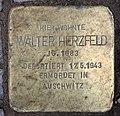 Stolperstein Bamberger Str 27 (Wilmd) Walter Herzfeld.jpg