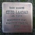 Stolperstein Bocholt Hochfeldstraße 147 Otto Landau.jpg