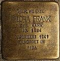 Stolperstein Göppingen, Flora Frank.jpg