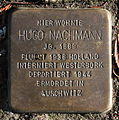 Stolperstein Karlsruhe Hugo Nachmann Reinhold-Frank-Str 24 (fcm).jpg