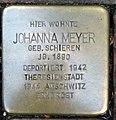 Stolperstein Kleve Große Straße 14 Johanna Meyer.jpg