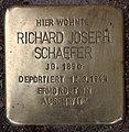 Stolperstein Westfälische Str 30 (Halsee) Richard Joseph Schaefer.jpg
