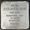 Stolperstein für Judr. Artur Mohr.jpg