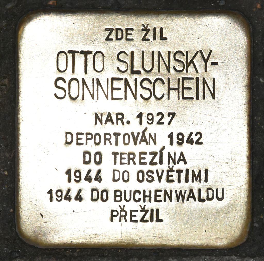 Stolperstein für Otto Slunsky-Sonnenschein.JPG
