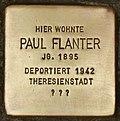 Stolperstein für Paul Flanter (Cottbus).jpg