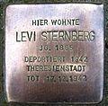 Stolpersteine Dortmund Evinger Straße 487 Levi Sternberg.jpg