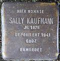 Stolpersteine Köln, Sally Kaufmann (Nußbaumerstraße 7).jpg