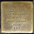 Stolpersteine Krefeld, Luise Frank (Friedrichstraße - Ecke St. Anton- Straße).jpg