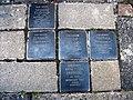 Stolpersteine Siegmund Fauerbach, Eisabeth Fauerbach, Helene Fauerbach, Dorothea Fauerbach, Hans Peter Fauerbach, Kurfürstenstraße 33, Bonn.JPG