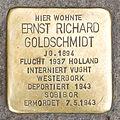 Stolpersteine für Goldschmidt, Domkloster 1, Köln-5528.jpg