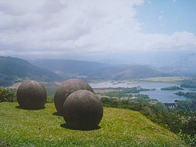 Stone spheres of Costa Rica. Reventazon River view.jpg