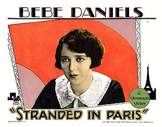 <i>Stranded in Paris</i> 1926 film by Arthur Rosson