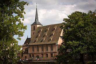 Saint Nicholas Church, Strasbourg - Side view
