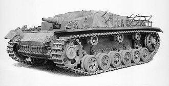 Sturmgeschütz - An early version of the Sturmgeschütz (StuG III Ausf.C/D)