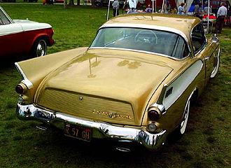 Studebaker Golden Hawk - 1957 Golden Hawk tailfins