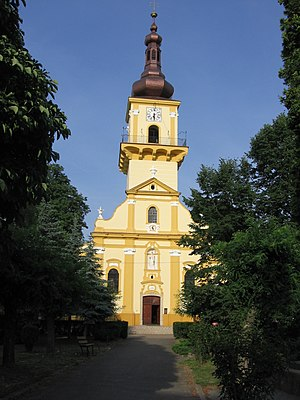 Place of worship - Roman Catholic church in Stupava (Slovakia)