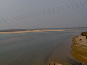 Subarnarekha River - Subarnarekha in December 2005 at Gopiballavpur
