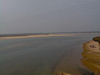 Subarnarekha River - Subarnarekha in December 2005 at Gopiballavpur