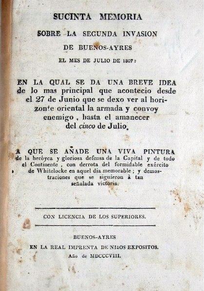File:Sucinta memoria sobre la segunda invasion de Buenos Aires.pdf