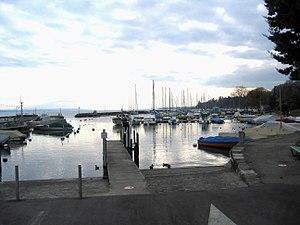 Suisse Nyon Lac Leman Port - panoramio.jpg