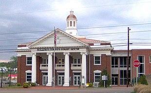 Sullivan County Courthouse in Blountville