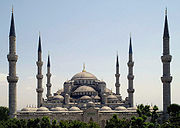 Sultan Ahmed Mosque Istanbul Turkey retouched.jpg