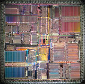 SuperSPARC - Image: Sun Super SPARC II die