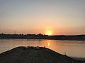 Sunset at Jehlum river.jpg