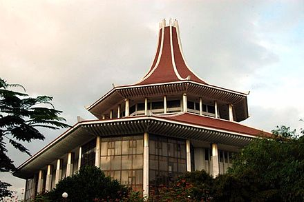 The Supreme Court of Sri Lanka is located in Colombo Supreme Court Colombo.jpg