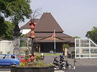 Surakarta - Surakarta City Hall.